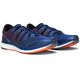 saucony Liberty ISO Shoes Men Blue/Black/ViziRed